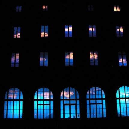 Fête des Lumières, Lyon, Gare St Paul