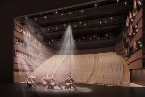 Théâtre de la Ville - Paris Visuel Blond & Roux